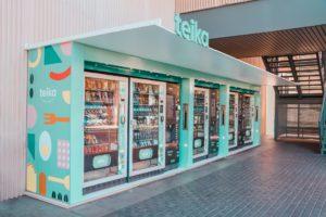 máquina vending teika