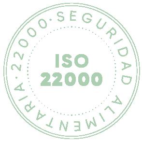 sello de calidad ISO 22000