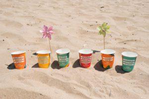 colección vasos verano vending