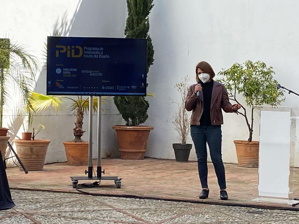 Gemma Paredes ingeniera de Teika en el Programa de Innovación y Diseño