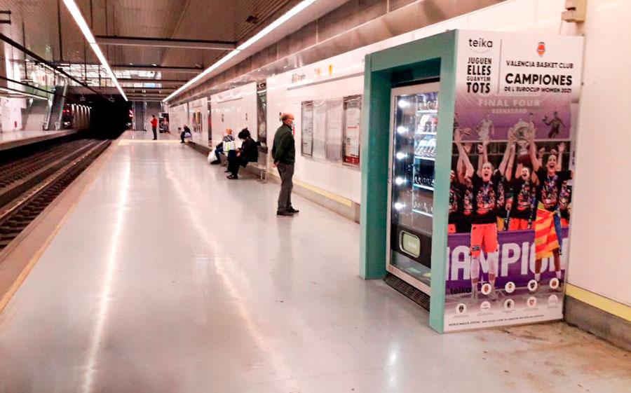 teika en metro valencia