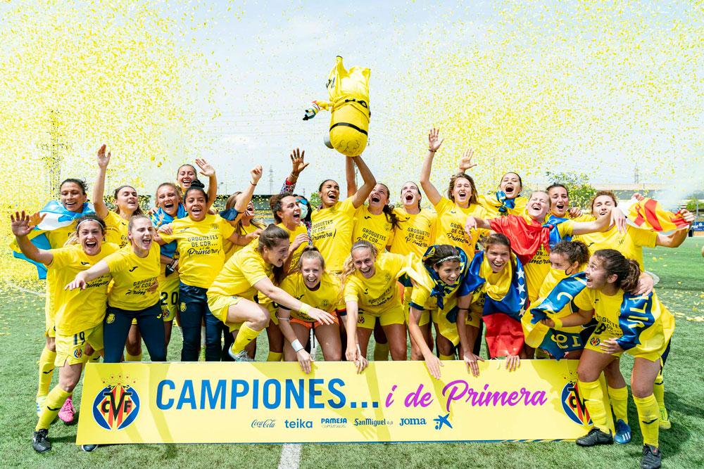 Villarreal femenino asciende a primera división