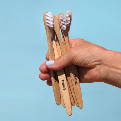 cepillo dientes bambu teika