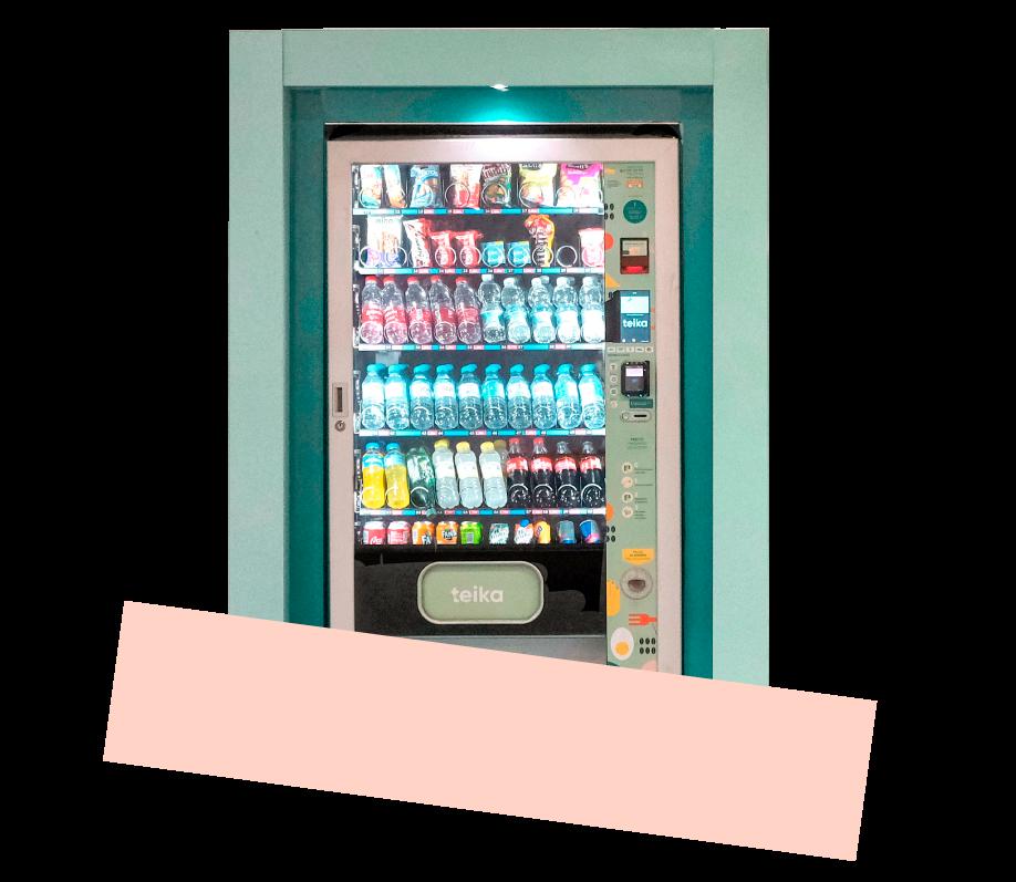 maquina vending teika